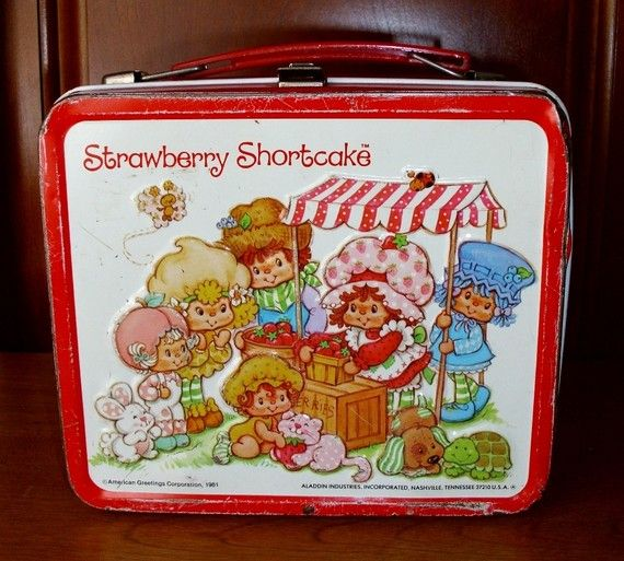 Vintage Lunch Box Strawberry Shortcake 1981 by SeptembersChild, $13.00