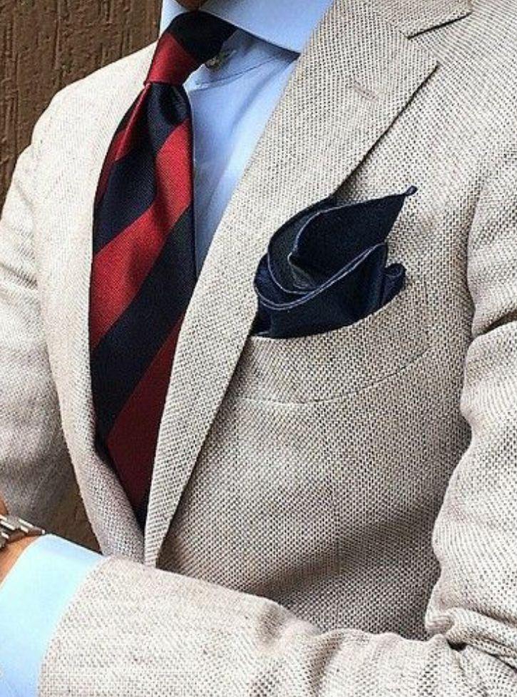 jg-exquisite: Men's Suit -necktie- pocket square