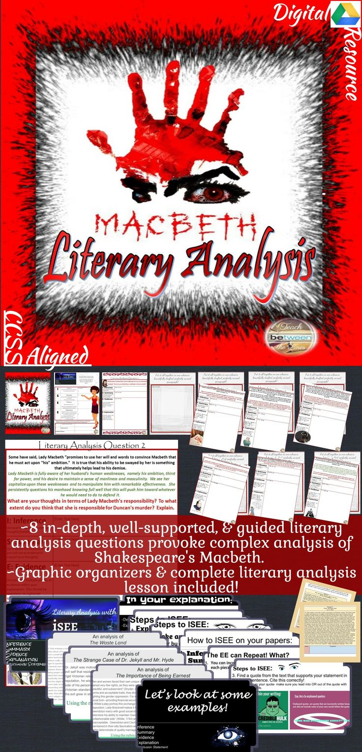 an analysis of shakespeares play macbeth The opposition of light and dark as symbols for life and death is the foundation upon which much of shakespeare's macbeth is built in act v scene v of macbeth, strong words covey all of these thoughts to the reader.