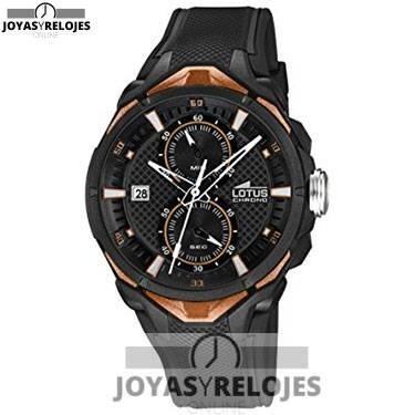 ⬆️😍✅ Lotus 18107/3 😍⬆️✅ Sublime Modelo de la Colección de Relojes LOTUS || PRECIO  € Disponible en 😍 https://www.joyasyrelojesonline.es/producto/lotus-181073-reloj-de-pulsera-hombre-caucho-color-negro/ 😍 ¡¡Ofertas Limitadas!!