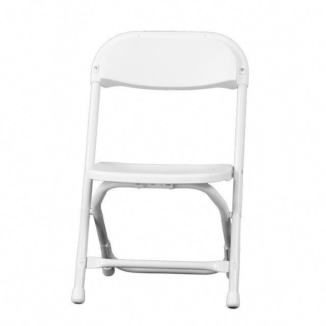 Kids White Plastic Folding Chair Foldingchairs4less Com