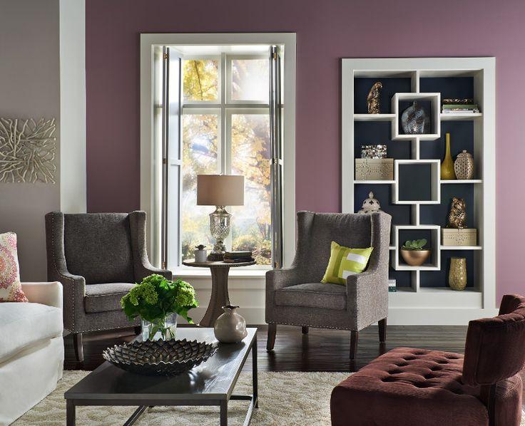 Estos tonos pueden ampliar habitaciones pequeñas.