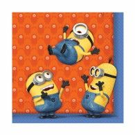 Minions Lunch Napkins Pkt20 $11.95 A997973