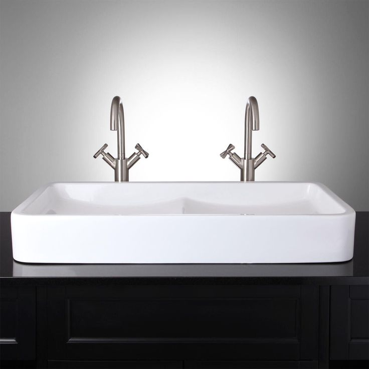 Find This Pin And More On Master Bathroom Top Pics I Love The Double Sink For A Small