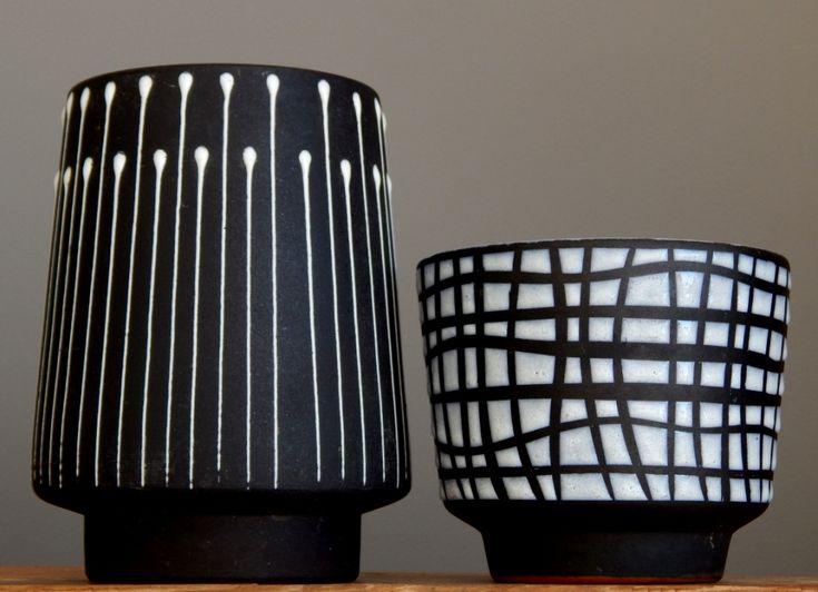 RETRO Vintage 60-70's MAREI Keramik Planter Pot German Pottery Fat Lava Vase Era