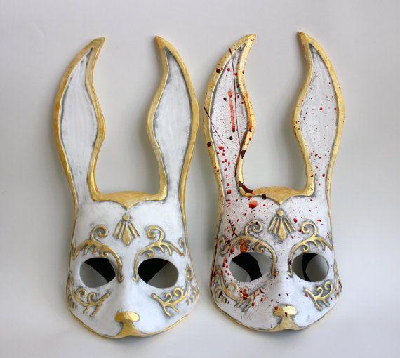 Bioshock Bunny Splicer masks!  https://www.etsy.com/listing/180293419/bioshock-splicer-inspired-handpainted
