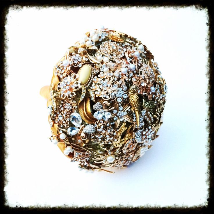 A personal favourite from my Etsy shop https://www.etsy.com/uk/listing/270209347/gold-vintage-style-bridal-brooch-bouquet