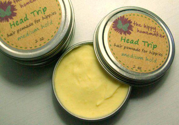 DIY Hippy Hair Pomade - thehippyhomemaker.com