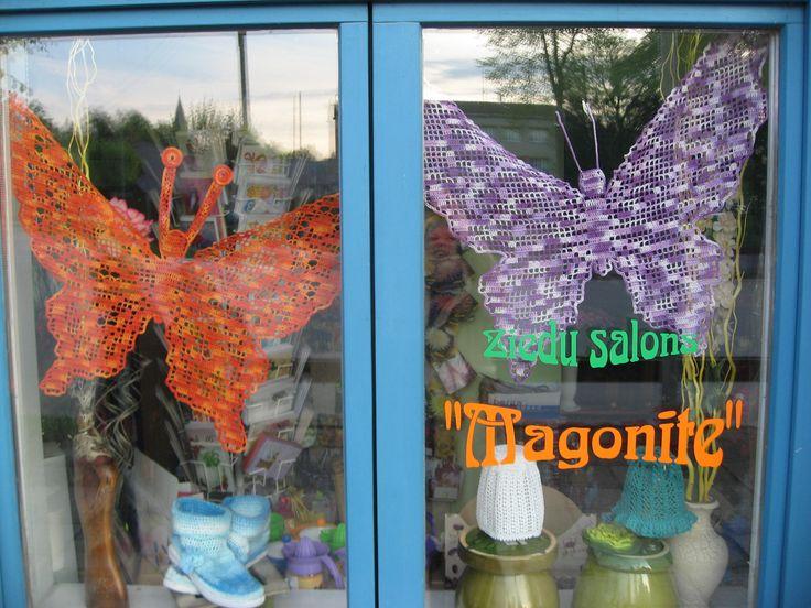 #HandicraftLeader event in Skrunda, Latvia. Theme crochet.