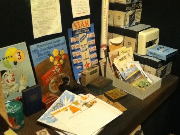 WW2 Memorabilia - photo taken at Eden Camp Museum