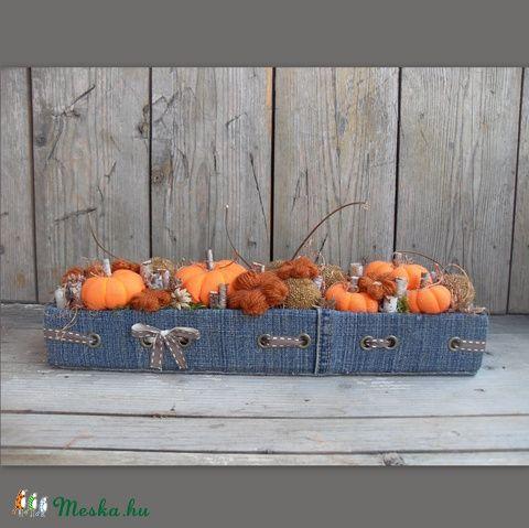 Élet a farmon - őszi asztaldísz, Dekoráció, Otthon, lakberendezés, Dísz, Meska