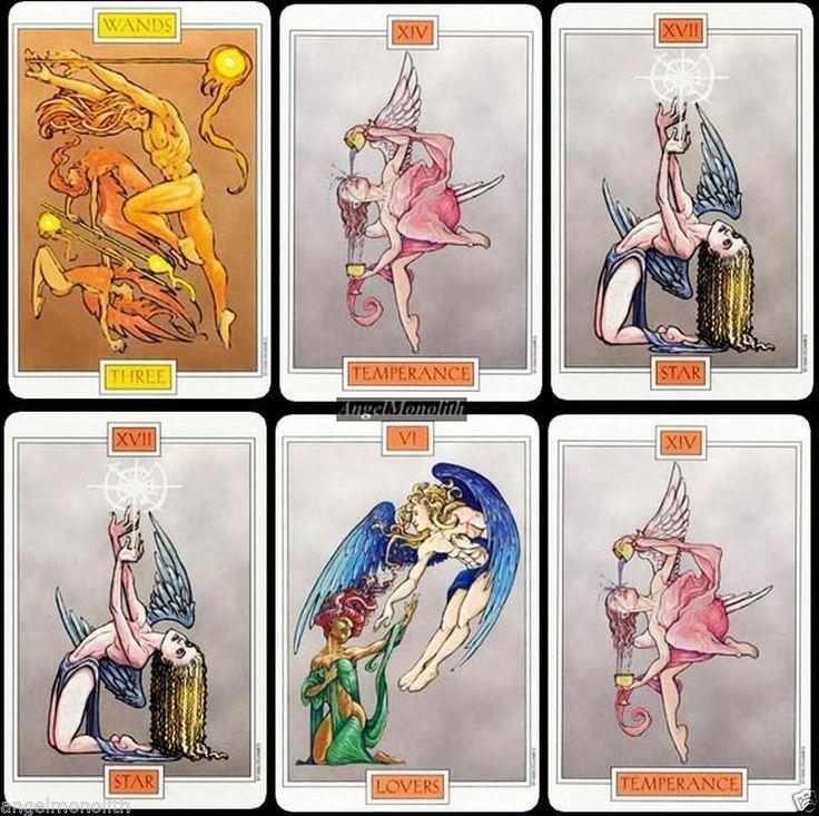 Engel Erzengel Tarot RAR Wings of Spirit Kartenlegen NEU original 1999