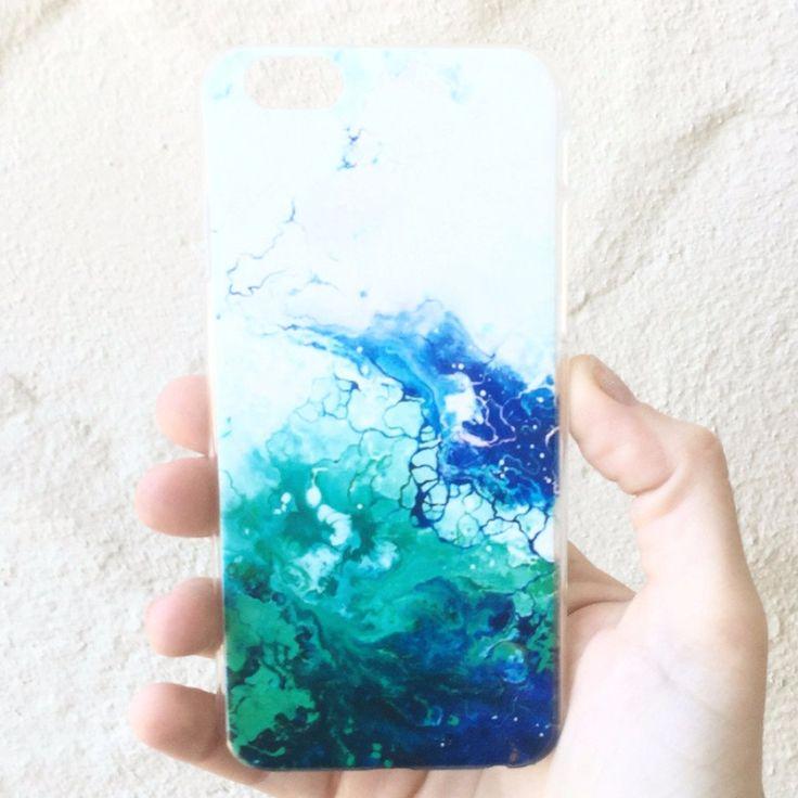 Sea Foam iPhone Case