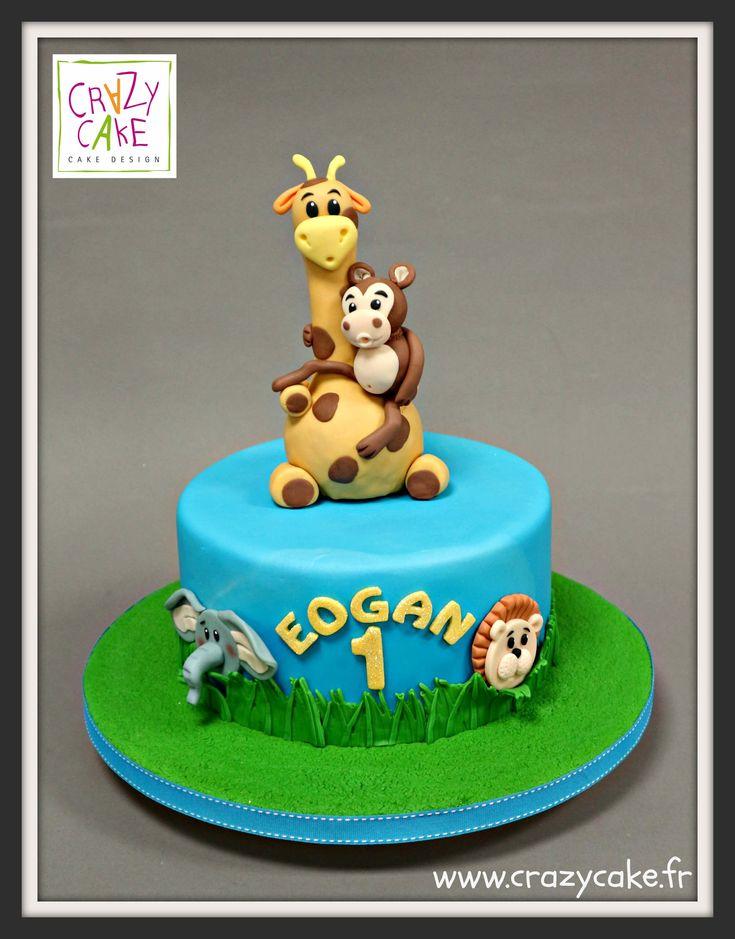 les 25 meilleures idées de la catégorie gâteaux safari sur