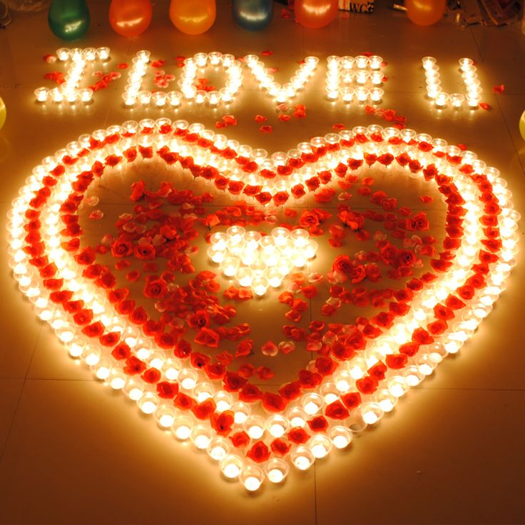 Taobao Super Surprise Valentine S Day Gift Candles Romantic Ideas
