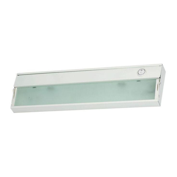 Titan Lighting Zeeline 1-Lamp Xenon White Under Cabinet Light with Diffused Glass