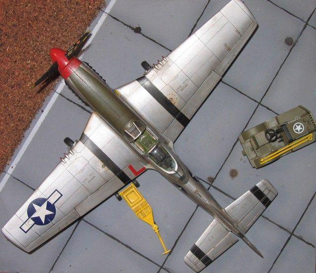 P-51 1/48 Hasegawa + Decal nose art Tauromodel