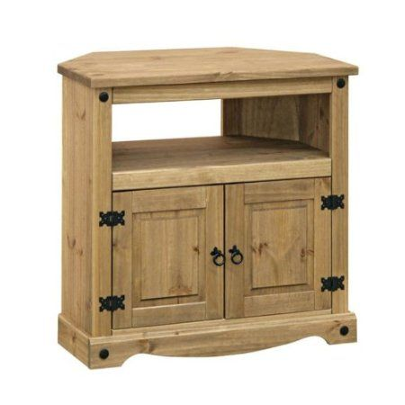 Home Essence Corona Wooden Corner TV Cabinet for CRT's: Amazon.co.uk: Kitchen & Home