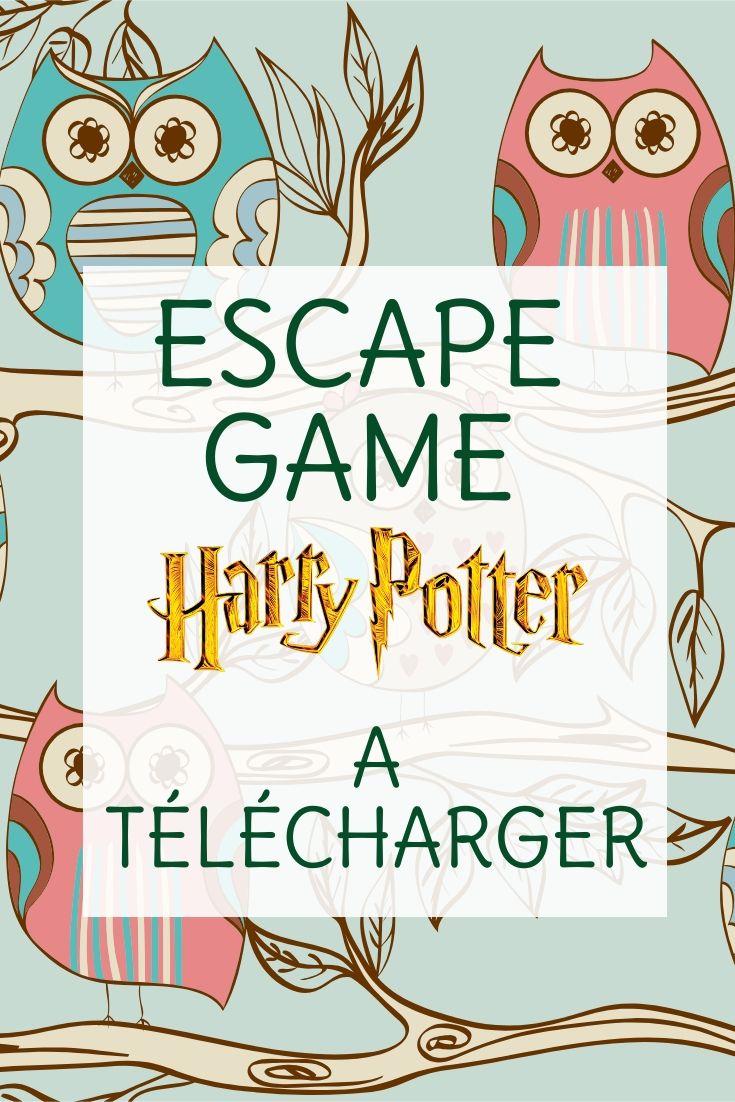 escape game harry potter a telecharger