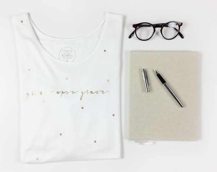 TSHIRT WITH A MESSAGE - GRACE UPON GRACE