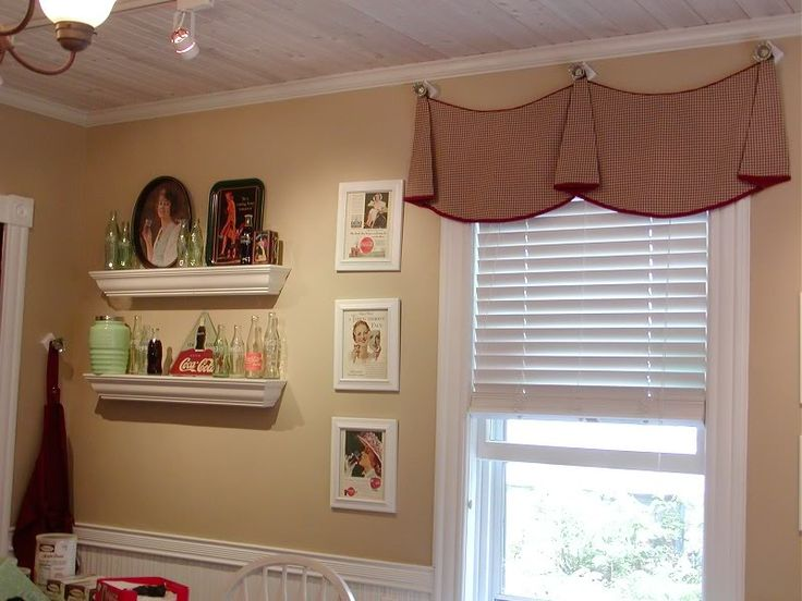 Hanging Curtains From Knobs, Not Rods?   @Jenna Nelson Kropp, This Would