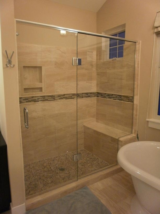 Ideas Shower Bathrooms Forward American Olean Mirasol Bianco