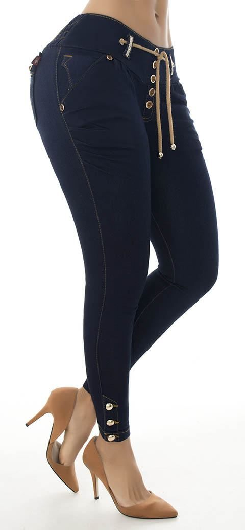 Jeans levanta cola LUJURIA 68584 - Jeans Colombianos