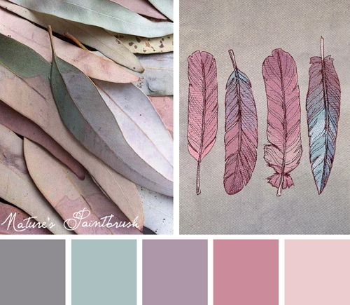 Try out this natural yet colorful Nature's Paintbrush color scheme on your…
