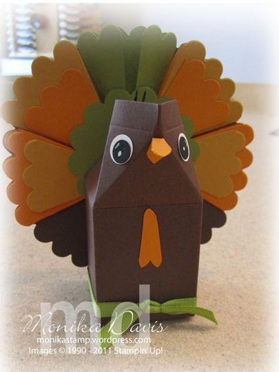 Turkey Milk Carton treat box