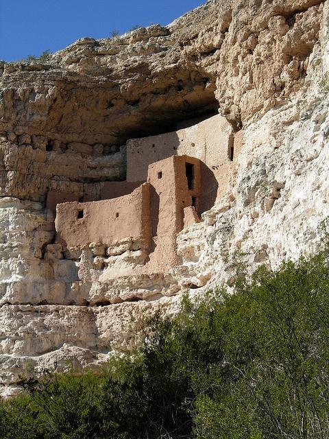 Montezuma Castle National Monument, Arizona (photo by Jeff Stvan)