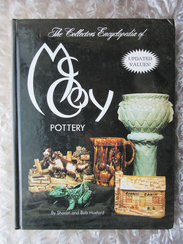 Good to have if you're looking for McCoy. 1993 Hardcover Collector Book McCoy Pottery w/ Values