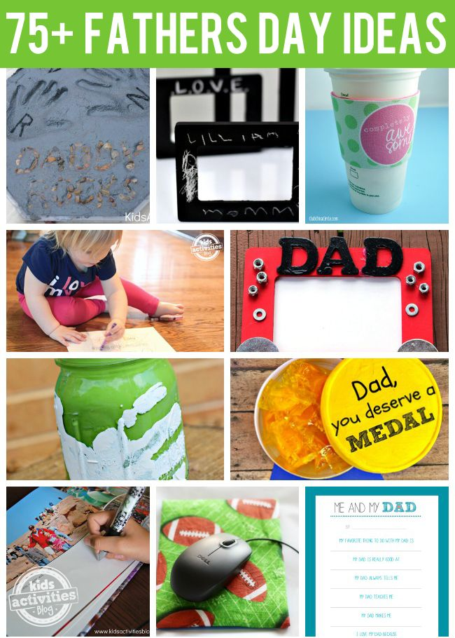 75+ {Amazing} Fathers Day Ideas from Kids Activities Blog
