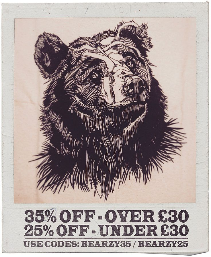 35% OFF / Orders over £30 & 25% OFF / Orders under £30 - Use codes: BEARZY35 & BEARZY25 - THEBEARHUG.com - Ends Monday