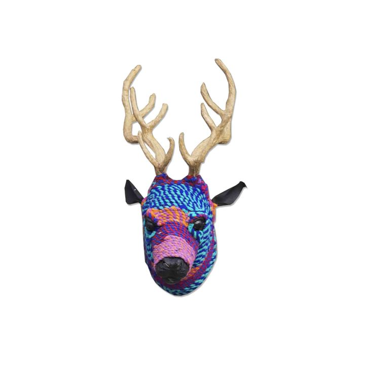 Deer head - multicolor