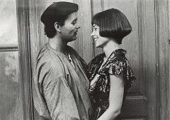 Bill Murray and Theresa Russell in The Razor's Edge
