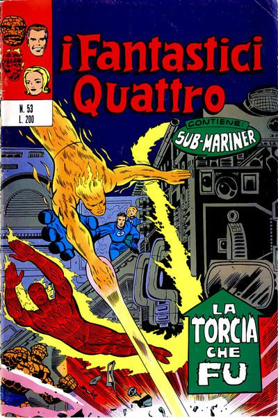 Cover for I Fantastici Quattro (Editoriale Corno, 1971 series) #53