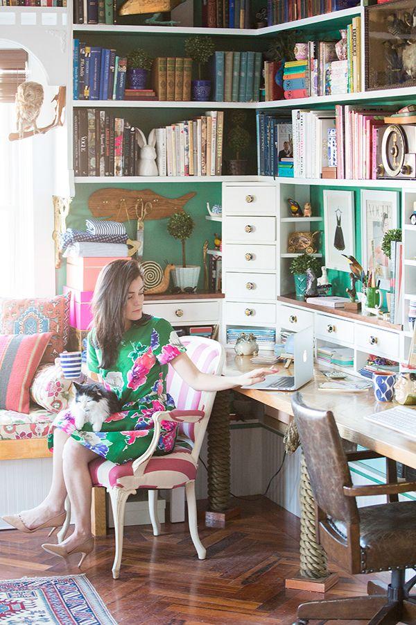 Home office inspiration | theglitterguide.com