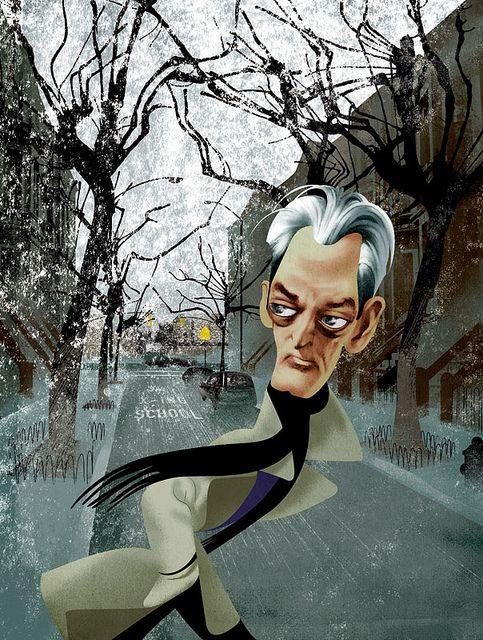 Paul Auster by André Carrilho, via Flickr