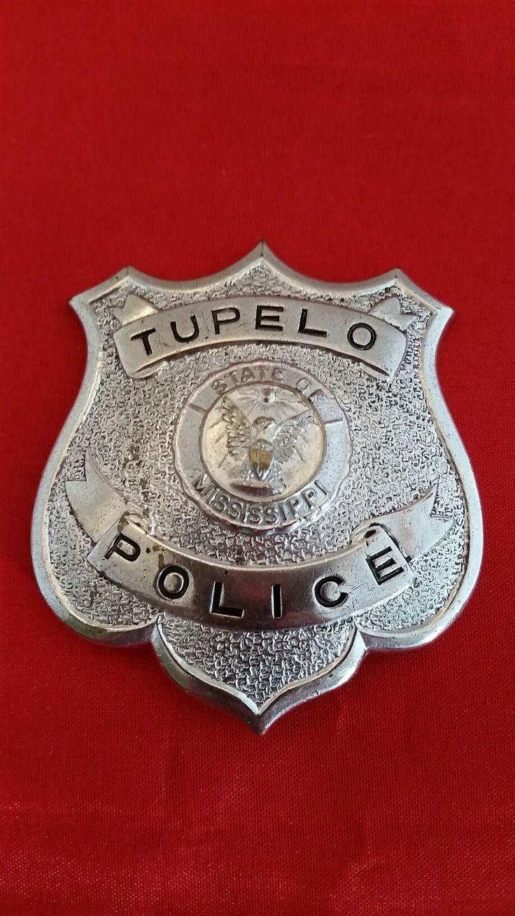 Police cap badges ga rel hat badges page 1 garel - 1950 S Tupelo Mississippi Police Badge