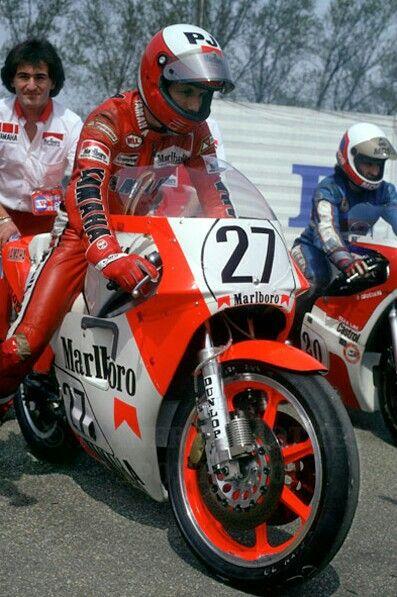 Steady Eddie Lawson Yamaha 500cc