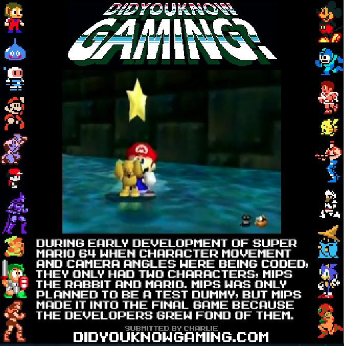 Did You Know Gaming? Super Mario 64