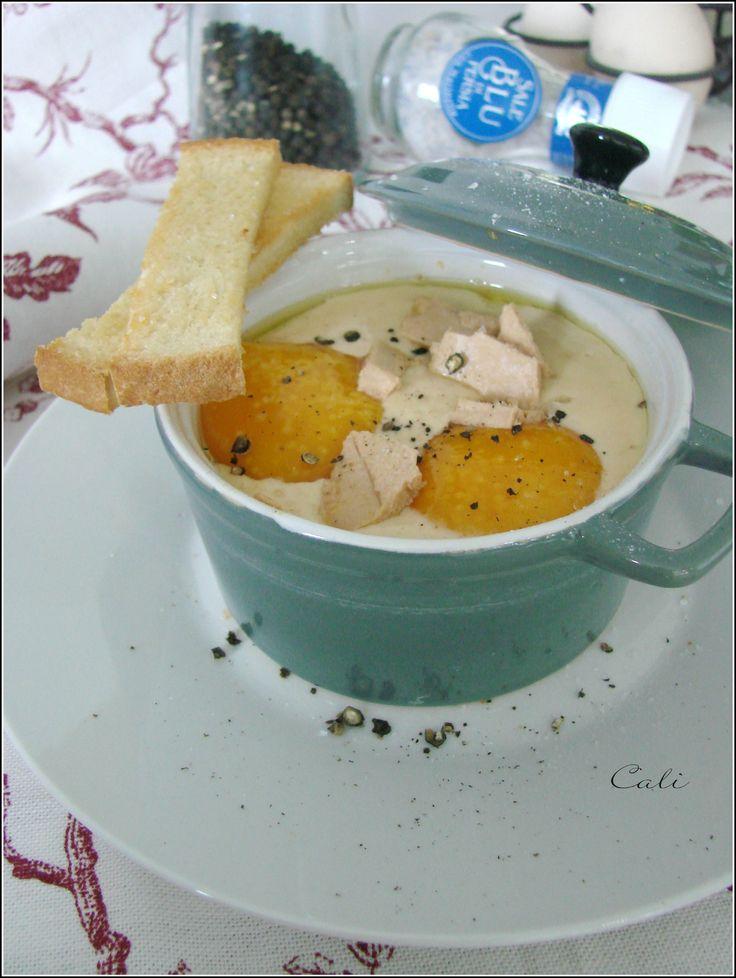 Oeufs Cocotte au Foie Gras 001