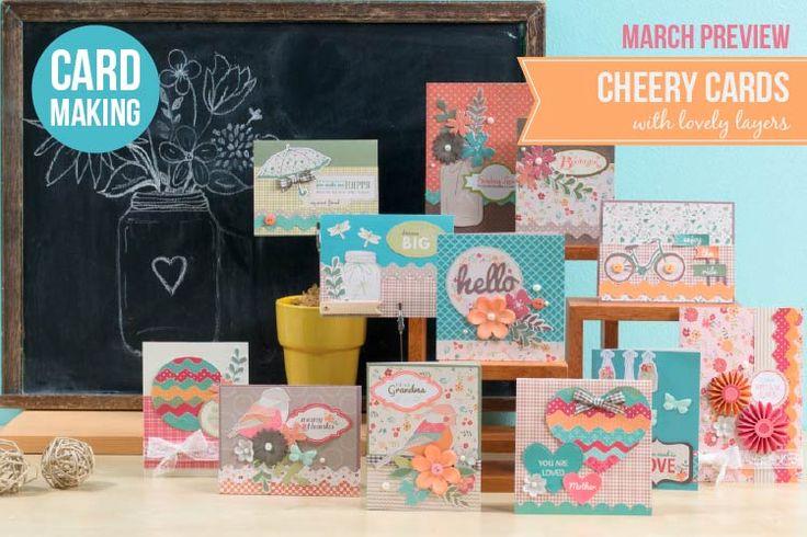 Club SEI March 2017 Card Making Kit