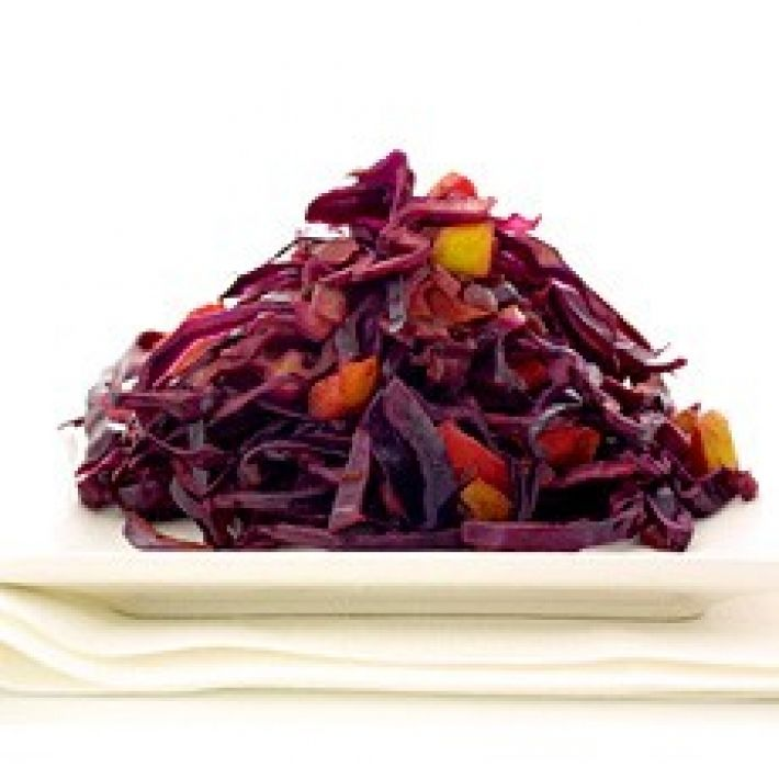 A picture of Delia's Quick Stir-fried Spiced Red Cabbage with Apples recipe