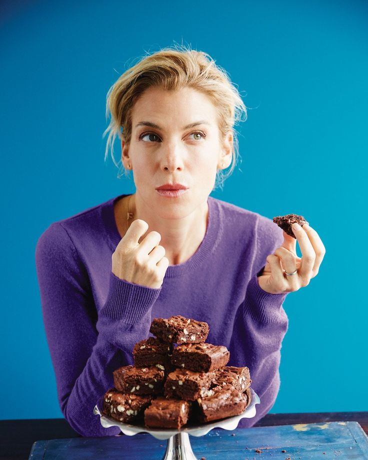 """""""I throw these in the oven last minute before I show up somewhere for dinner. Even if my presence isn't welcome, these brownies always are,"""" Jessica Seinfeld jokes about these decadent yet easy from-scratch brownies. They're from her new cookbook,Food Swings: 125+ Recipes to Enjoy Your Life of Virtue and Vice. Naturally, these fall under [...]"""