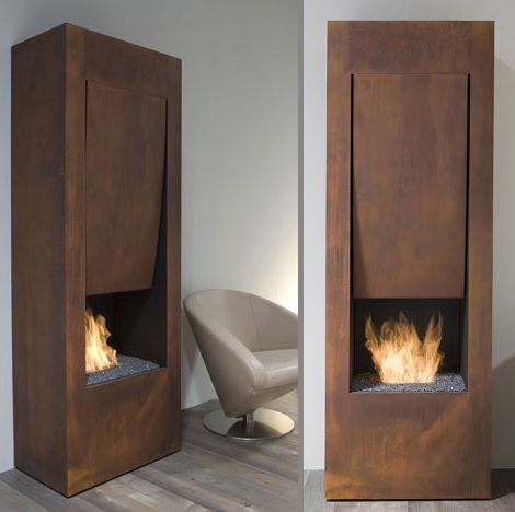 Designer Ethanol Fireplace by Antonio Lupi - The Song of Fire