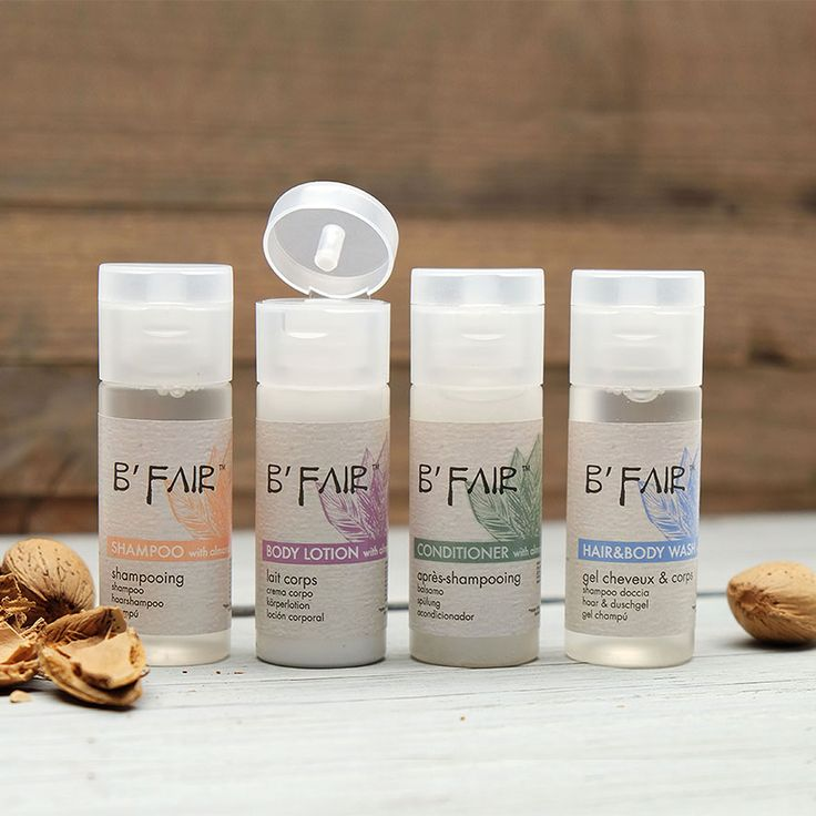 B'Fair! The #ethicalbodycare made from 100% Fairtrade® certified almonds from Pakistan.  More on: http://www.allegriniamenities.com/en/b-fair.aspx