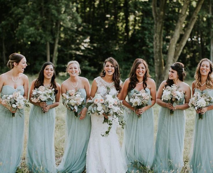 313 best real weddings bridesmaids images on pinterest seaglass willow dresses by jenny yoo junglespirit Gallery