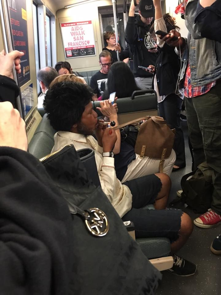 Today on Bay Area Rapid Transit