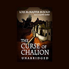 """Another must-listen from my #AudibleApp: """"The Curse of Chalion"""" by Lois McMaster Bujold, narrated by Lloyd James."""